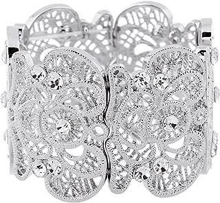 Best ladies silver bracelet designs Reviews