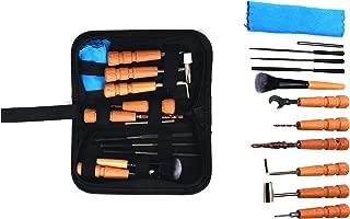 YaeTek Guitar Repairing Maintenance Kit Convenient Repair Tool Set 11pcs for Guitar Ukulele Violin -Perfect Gift for Music or String Instrument Enthusiast
