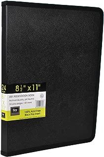 Filexec Products Art Presentation Book, 8.5