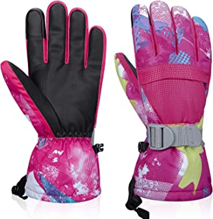 LANYI Winter Gloves for Men Women 3M Thinsulate Waterproof Touch Screen Windproof Thermal Ski Cold Weather Gloves