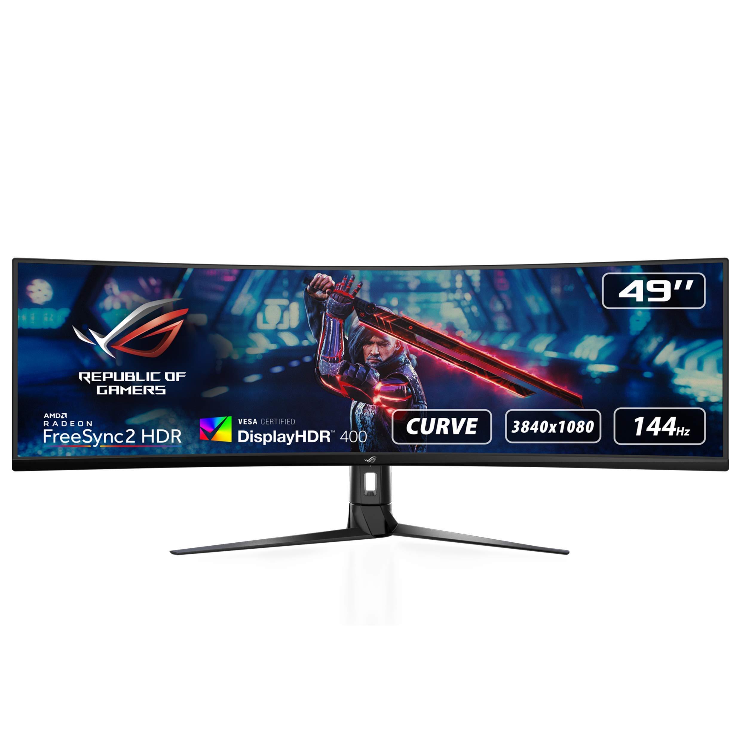 ASUS ROG Strix XG49VQ, Monitor Gaming Ultrapanorámico (3840 X ...