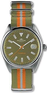 Mondia Campus Mens Analog Japanese Quartz Watch with Nylon Bracelet MI728-3CT