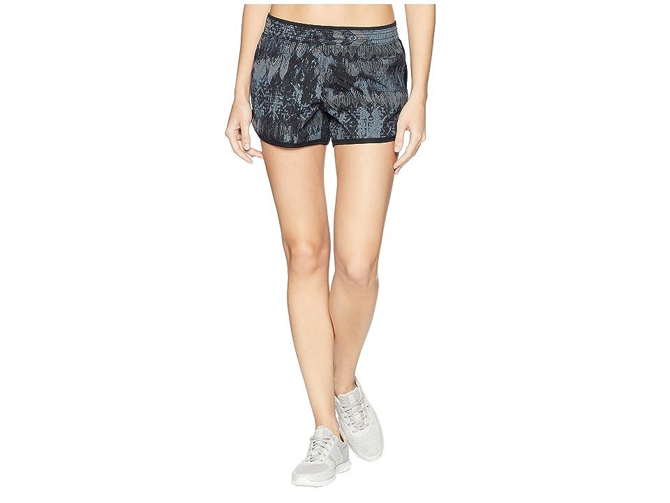 The North Face Reflex Core Shorts (TNF Black Reflective Weaver Print) Women