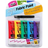 Amazon.com: Tulip 29025 Dimensional Glow Fabric Paint, 6 ...