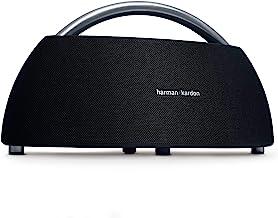 Harman Kardon Go + Play - Altavoz Bluetooth portátil con batería Recargable y micrófono Dual, Color Negro