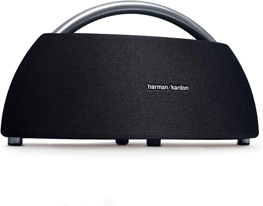 Harman kardon go + play diffusore bluetooth portatile con batteria ricaricabile e doppio microfono, nero K951306