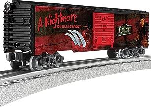 Lionel A Nightmare on Elm Street, Electric O Gauge Model Train Cars, Boxcar