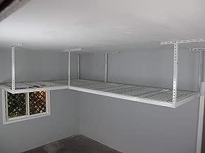 SafeRacks Overhead Garage Storage Combo Kit | Two 4 ft. x 8 ft. Racks (18
