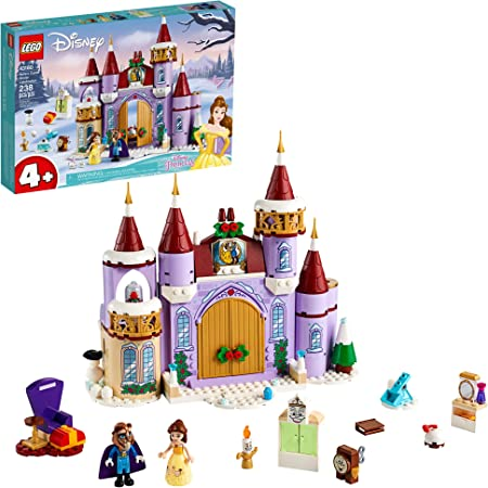 114 Pieces New 2021 LEGO Disney Ariel/'s Celebration Boat 43191; Creative Building Kit That Makes a Fun Gift for Kids