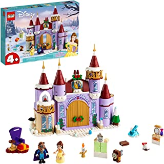 LEGO Disney Belle's Castle Winter Celebration (43180) Disney Princess Building Kit; Makes a Great Birthday for Kids who Lo...