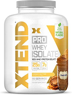 Scivation Xtend Pro, 100% Whey Protein Isolate Powder, Cookie Butter, 2.28kg