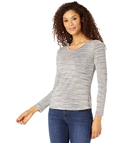 Prana Foundation Long Sleeve Crew Neck Top (Frost) Women