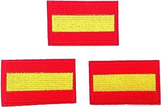 3 parches España bordados termoadhesivos,HC Enterprise 03: Amazon.es: Hogar