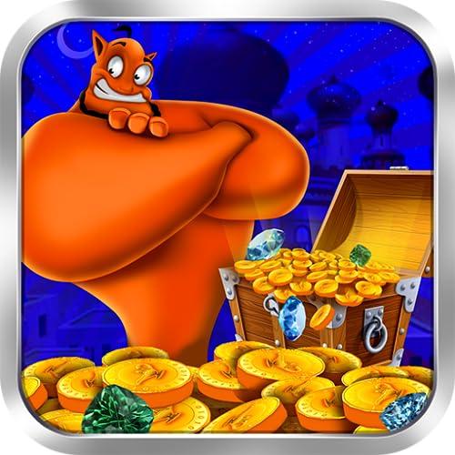 Egyptian Coin Dozer Genie - Lucky Money Bulldozer Pusher for Kindle