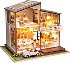 Creative gift Dollhouse Miniature Modern Computer Furniture  baL~