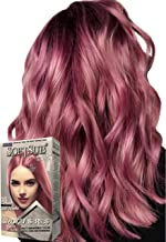 purple and pink hair highlights