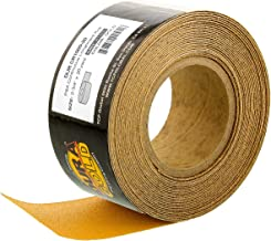 Dura-Gold - Premium - 1000 Grit Gold - Longboard Continuous Roll 20 Yards Long by 2-3/4