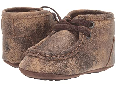 M&F Western Kids Memphis (Infant/Toddler) (Tan/Black) Boys Shoes