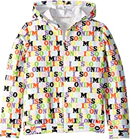 All Over Logo Hoodie (Big Kids)