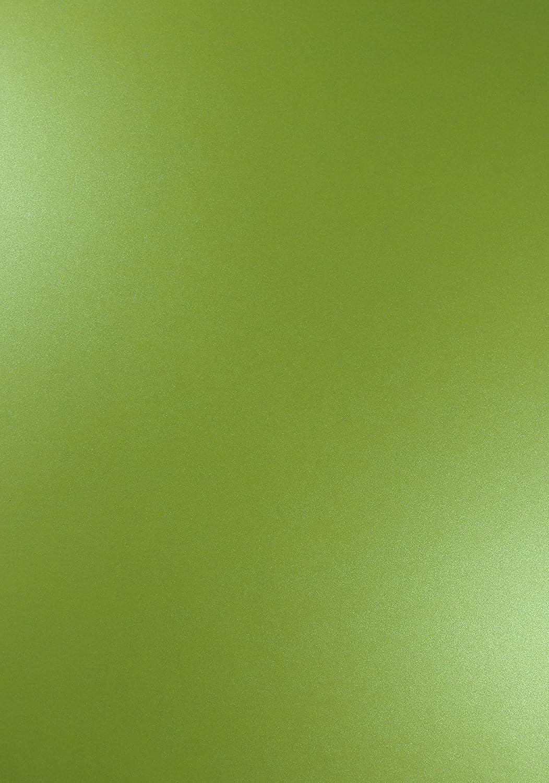 100x Blatt Perlmutt-Hellgrün 250g Papier DIN A4 210x297mm Majestic Satin Lime- ideal für Hochzeit, Geburtstag, Taufe,Weihnachten, Einladungen, Diplome, Geschenktüten, Visitenkarten, Briefkarten B07JP6RFQZ | Erste Qualität