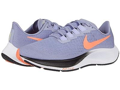 Nike Air Zoom Pegasus 37 (Indigo Haze/Bright Mango/Purple Pulse) Women