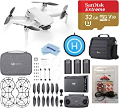 $499 » DJI Mavic Mini Fly More Combo Drone FlyCam Quadcopter with 2.7K Camera, Strobe Bundle with Case, ARC White Strobe, 32GB microSD Card, Landing Pad, Cleaning Kit