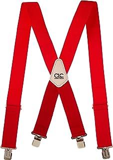 CLC Custom Leathercraft 110RED سیستم تعلیق کار سنگین ، تسمه های الاستیک ، یک اندازه ، قرمز