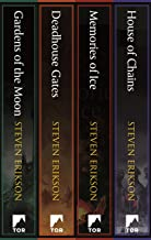 Malazan Book of the Fallen: Books 1-4: Gardens of the Moon, Deadhouse Gates, Memories of Ice, House of Chains
