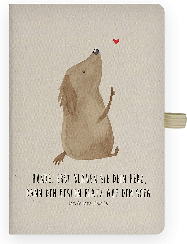 DIN A4 Baumwoll Notizbuch Schildkr/öte marschiert Panda Schreibbuch Mr Farbe Transparent /& Mrs Kladde