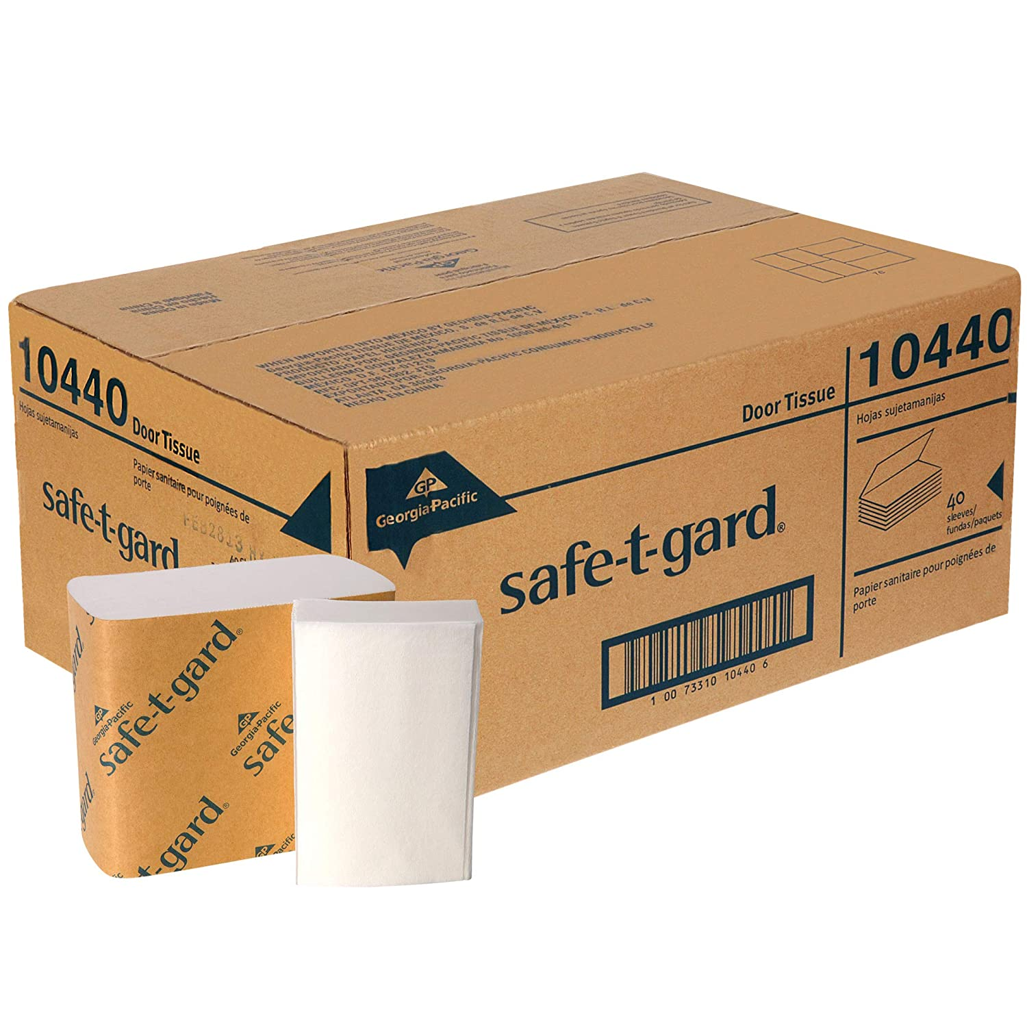 Georgia-Pacific Challenge the lowest price of Japan ☆ Safe-T-Gard Facial Tissue M Now free shipping White 40 Carto per