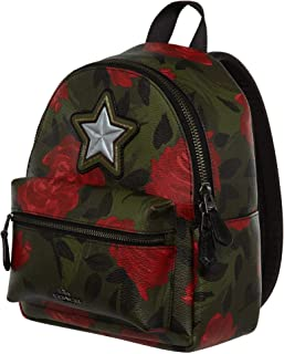 Coach Women's Mini Charlie Camo Floral Backpack