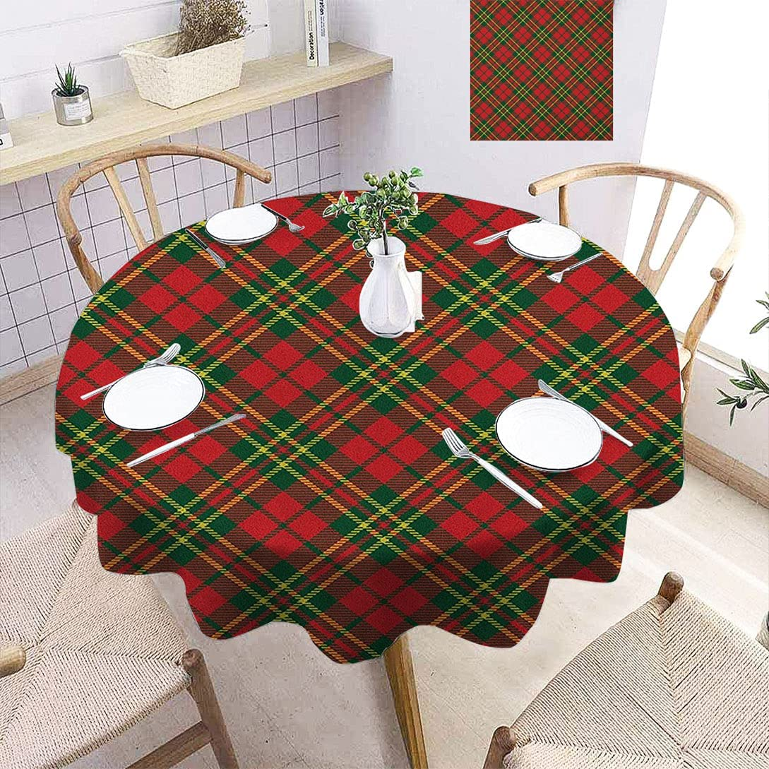 shopping Amazing Checkered Print Tablecloth Animer and price revision Irish in Motifs Plaid Tartan