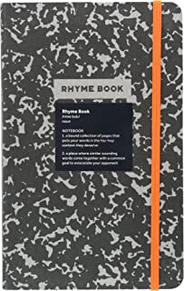 Rhyme Book: A lined notebook with quotes, playlists, and rap stats