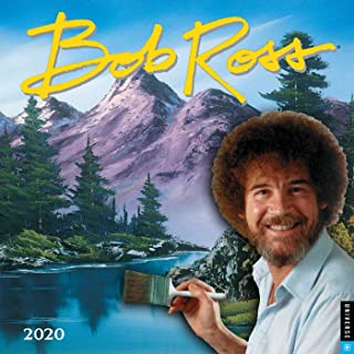 Bob Ross 2020 Wall Calendar