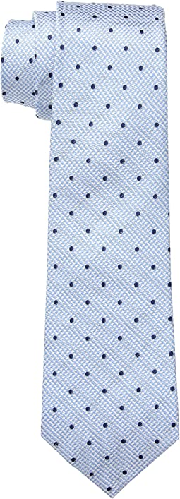 The Hector Blue Houndstooth Dot Tie