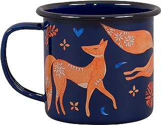 Folklore Woodland Watercolor Durable Travel Enamel Beverage Mug