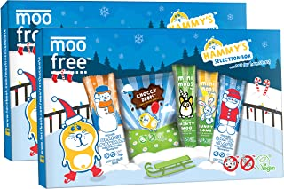 Moo Free Dairy Free Chocolate Hammy`s Selection Box 135g (Pack of 2)