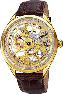 Amazon Exclusive Men's AK802 Mechanical Hand Wind Watch