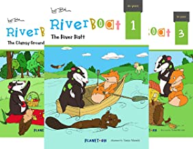 Riverboat Series Chapter Books (5 Book Series)