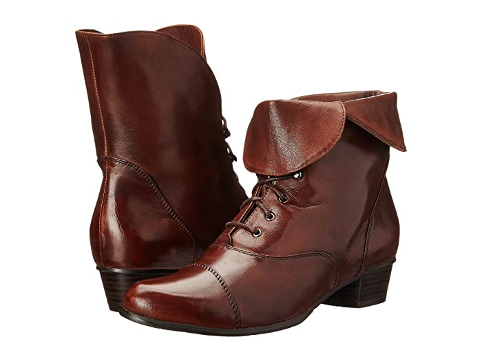 Steampunk Boots & Shoes, Heels & Flats Spring Step Galil Medium Brown Womens Shoes $169.95 AT vintagedancer.com