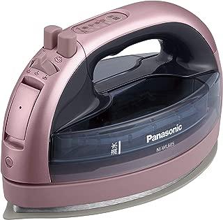 パナソニック コードレススチームWヘッドアイロン ピンク NI-WL605-P