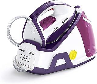 Bosch TDS6530 Serie I 6 EasyComfort - Centro de planchado, 2.400 W, 6.5 bares de presión, Con 420 gr de supervapor, color blanco y violeta