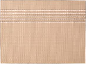 (KIT) Ikea SNOBBIG Place mat, Light red/Beige 17 ¾x13 (45x33 cm) - Set of 4