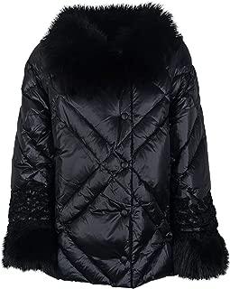 Ermanno Scervino Luxury Fashion Womens PN01SUP00099 Black Outerwear Jacket   Spring Summer 19