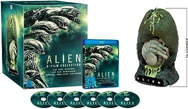 Alien 1-6 Collection - Special-Edition mit Alien-Ei-Figur (exklusiv bei amazon.de) [Blu-ray]