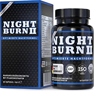 Night Burn 2 na noc, Night Burn® – oryginalny produkt markowy z formułą sukcesu z USA, Made in Germany zgodnie z ISO i HAC...