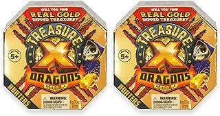 Treasure X Quest For Dragons Gold - Treasure Hunter - 2 Pack