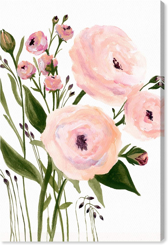 Wynwood Studio overseas Botanical Wall Art Blush Canvas Garden Prints Bombing new work 'My
