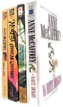 Anne McCaffrey's Dragon Riders of Pern Series, Set #2: The White Dragion; Dragondrums; Moreta: Dragonlady of Pern & Nerilk...
