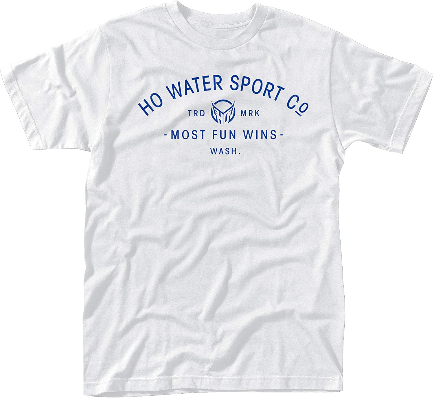 HO Sports Stacked T-Shirt White Denver Mall Large Sale item Medium Small XL